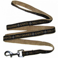 New Orleans Saints Ribbon Dog Leash