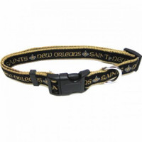New Orleans Saints Ribbon Dog Collar