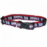 New York Giants Ribbon Dog Collar