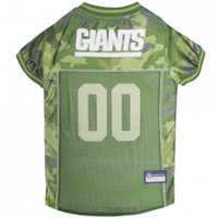 New York Giants Camo Dog Jersey