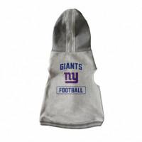 New York Giants Pet Hooded Crewneck