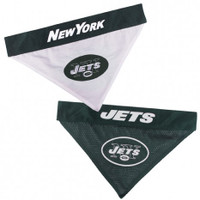 New York Jets Reversible Mesh Dog Bandana