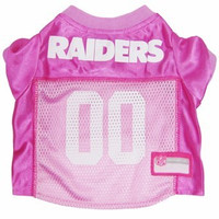 Oakland Raiders Pink Dog Jersey