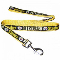 Pittsburgh Steelers Ribbon Dog Leash