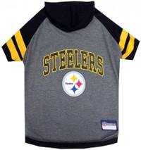 Pittsburgh Steelers Hoody Dog Tee