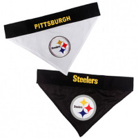 Pittsburgh Steelers Reversible Mesh Dog Bandana