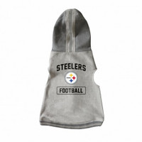 Pittsburgh Steelers Pet Hooded Crewneck