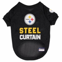 Pittsburgh Steelers Dog Jersey – Steel Curtain