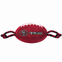 San Francisco 49ers Nylon Football Toy