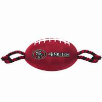 San Francisco 49ers Nylon Football Toy