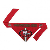 San Francisco 49ers Tie-On Bandana
