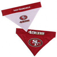 San Francisco 49ers Reversible Mesh Dog Bandana