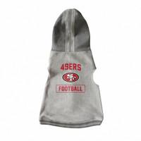 San Francisco 49ers Pet Hooded Crewneck