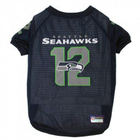 Seattle Seahawks Dog Jersey – 12th Man