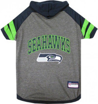 Seattle Seahawks Hoody Dog Tee