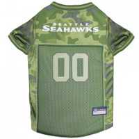 Seattle Seahawks Camo Dog Jersey