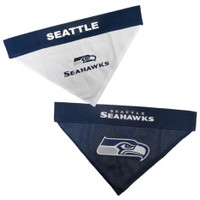 Seattle Seahawks Reversible Mesh Dog Bandana