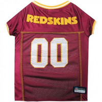 Washington Redskins Dog Jersey - Yellow Trim