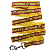 Washington Redskins Ribbon Dog Leash