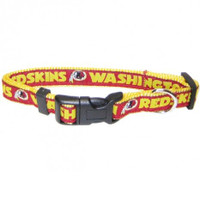 Washington Redskins Ribbon Dog Collar