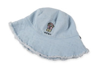 Bear Denim Buckle Hat