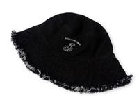 Cherry Denim Buckle Hat