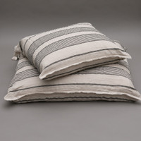 Louisdog Stripes Linen Cushion