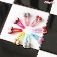 Wooflink Bow Snap Hair Clip