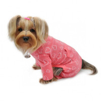 Blush of Love Fleece Turtleneck Pajamas