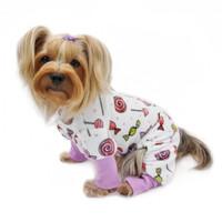 Ultra Soft Minky Sweet Candies Pajamas