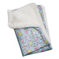 Ultra Soft Minky/Plush Funny Sheep Blanket