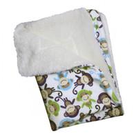 Ultra Soft Minky/PlushMonkey Blanket