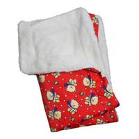 Winter Bear Flannel/Ultra-Plush Blanket