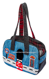 London Zipper Pet Carrier
