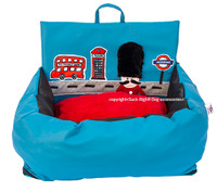 God Save the Queen Driving Kit Dog Car Seat