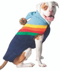 Rainbow Dog Hoodie