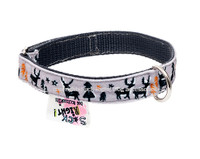 Grey Deers Textile Collar