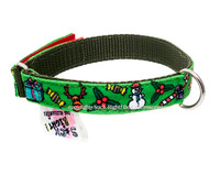 Jingle Bells Textile Collar
