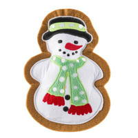 Wagnolia Bakery Christmas Snowman Cookie Toy