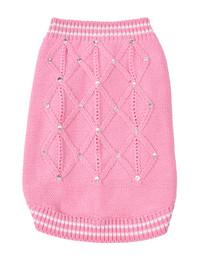 Oscar Newman V.I.Pink Sweater