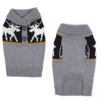 Moose Print Sweater