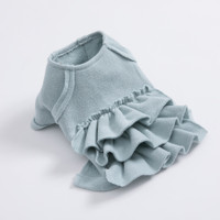 Louisdog Mint Fleece Blouse