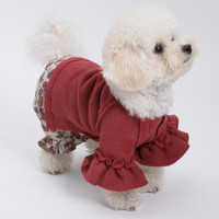 Louisdog Rouge Fleece Blouse