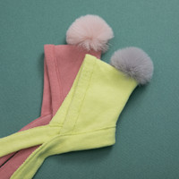 Louisdog Fleece PomPom Hat