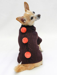 Bon Bon Chocolate Brown Sweater