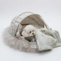 Louisdog Irish Linen Grace Cradle