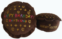 Chewy Vuiton Happy Barkday Cake Toy