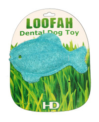 Organic Vegetable Dental Blue Fish Toy