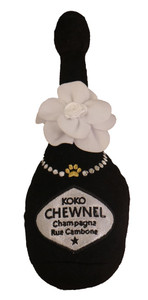 Koko Chewnel Champagne Dog Toy