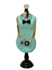 Wooffany Camera Houndstooth Tank